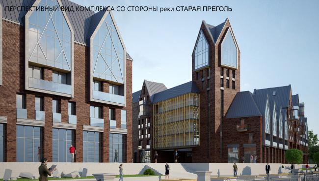 Концепция комплекса «Рыбная деревня II». Автор: Фурдуй Сергей (Минск)