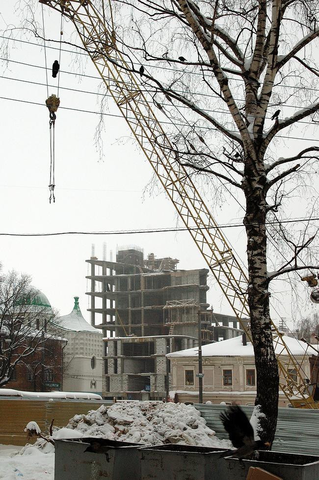 Нижний Новгород. Февраль 2008. Улица Б. Печерская