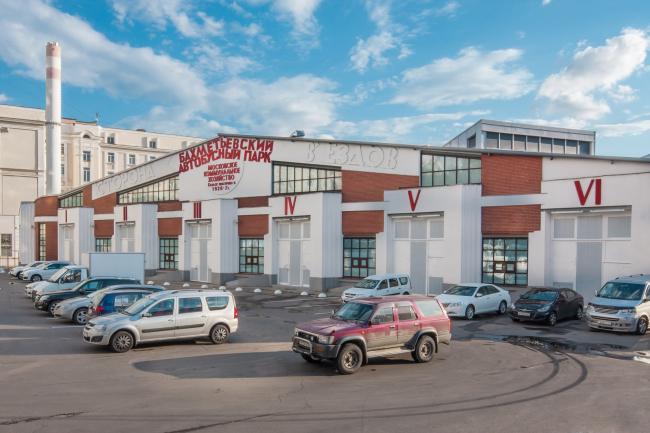 Константин Мельников. Бахметьевский гараж © Денис Есаков