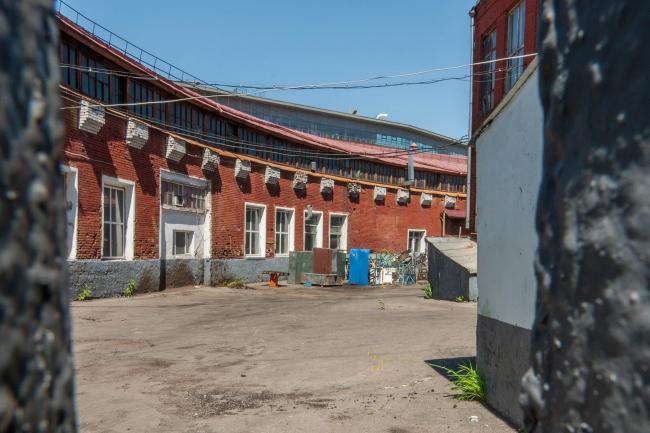Константин Мельников. Гараж на Новорязанской улице © Денис Есаков
