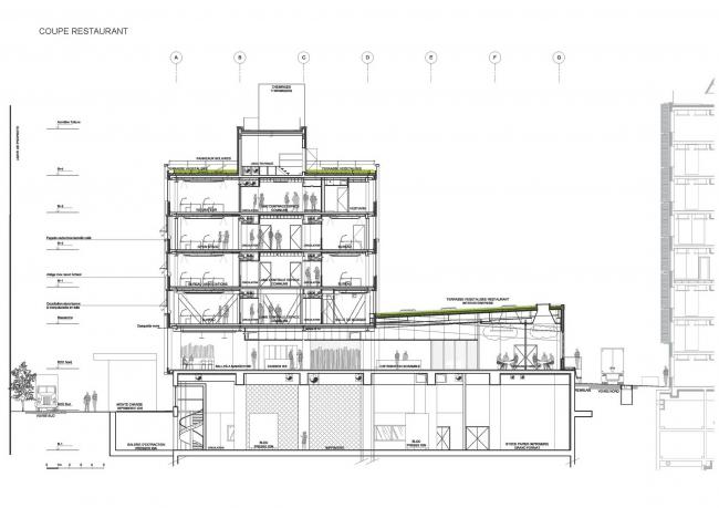 Комплекс Национального географического института и службы Météo France © Architecture Patrick Mauger