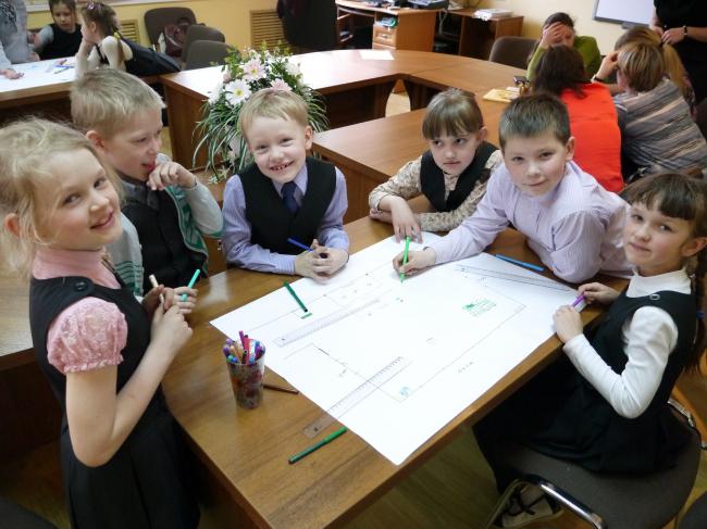 Исследовательская программа «Новая школа». Фото предоставлено организаторами форума  «Социальные инновации. Лига молодых»