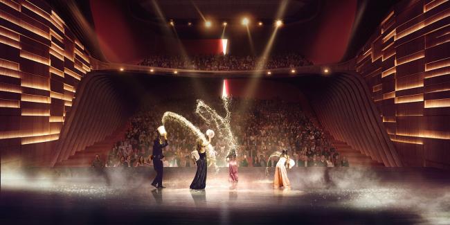 Театр «ан де Параде» © UNStudio