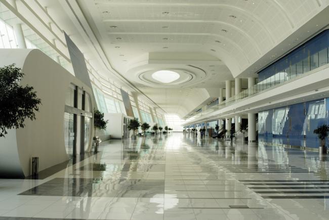 Выставочный центр Adnec, Абу-Даби (ОАЭ)