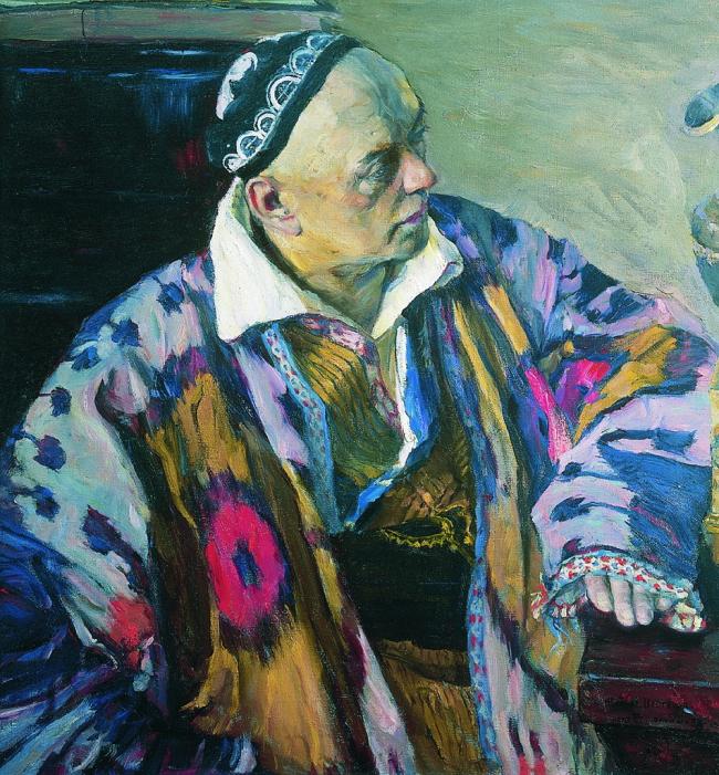 А.В. Щусев. Портрет работы М.В. Нестерова. 1941. ГТГ
