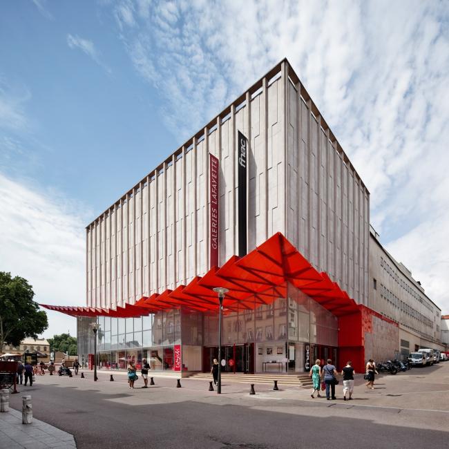Универмаг Galeries Lafayette – реконструкция фасадов © Vincent Fillon