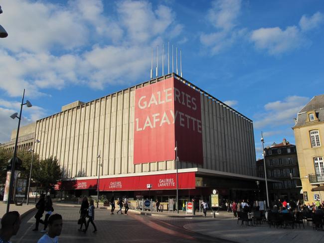 Универмаг Galeries Lafayette. Вид до реконструкции © Manuelle Gautrand Architecture