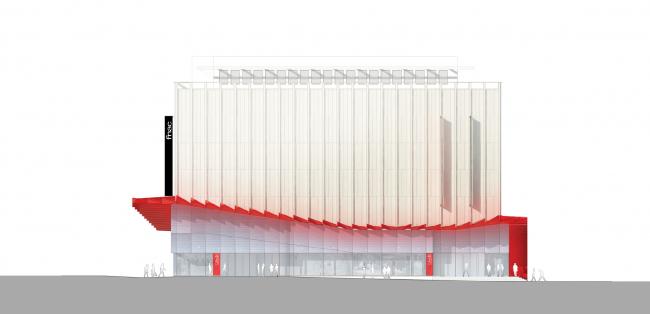 Универмаг Galeries Lafayette – реконструкция фасадов © Manuelle Gautrand Architecture