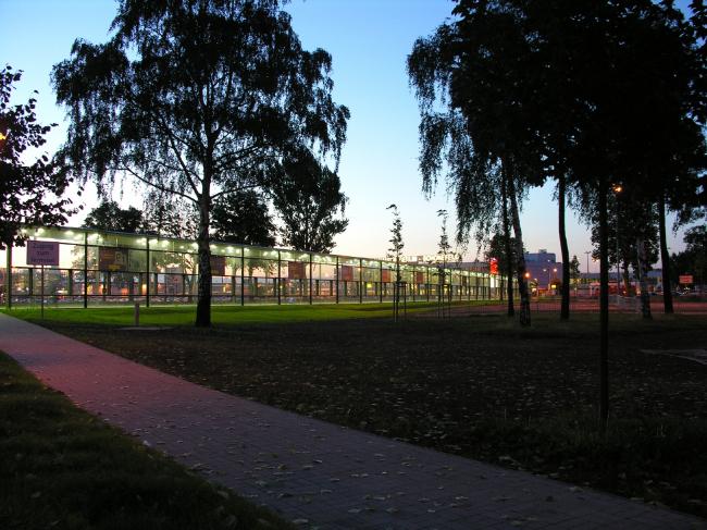 SFX площадь перед аэропортом © nps tchoban voss