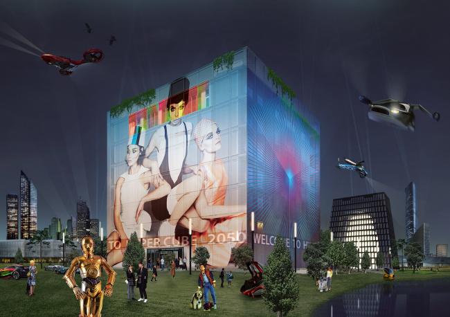 Гиперкуб. 2050 год © BERNASKONI