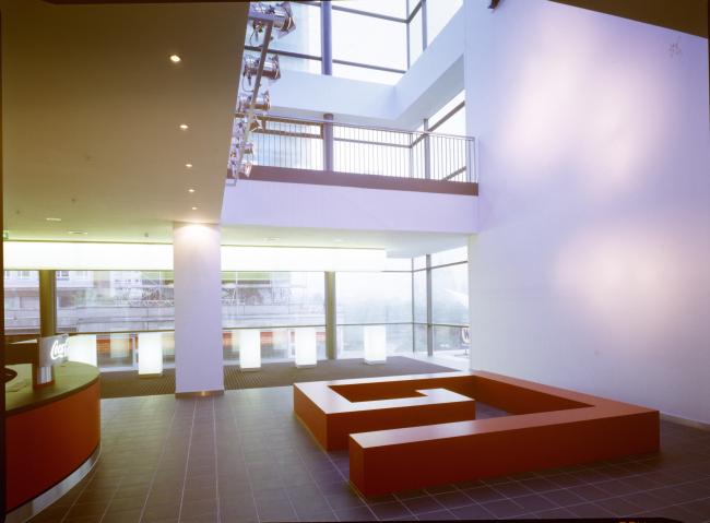 Кинотеатр Cubix. Фотограф © Dieter Leistner