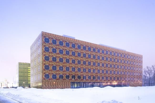Многофункциональный комплекс «Времена года» на  территории бывшей фабрики «Россия» © Алексей Народицкий