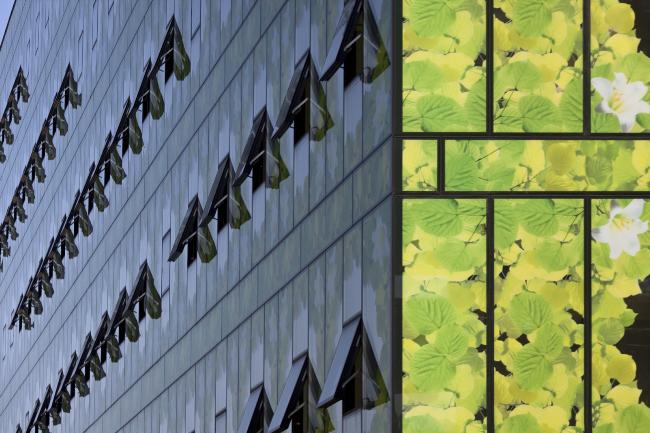 Многофункциональный комплекс «Времена года» на  территории бывшей фабрики «Россия» © ООО «Теорема»