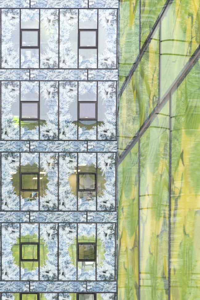 Многофункциональный комплекс «Времена года» на  территории бывшей фабрики «Россия». Фотография © Алексей Народицкий