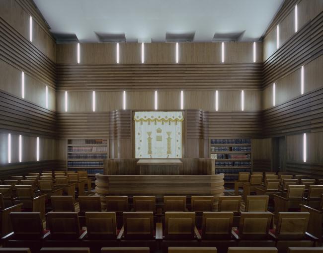 Еврейский культурный центр и синагога Хабад Любавич. Фотография © Christian Gahl