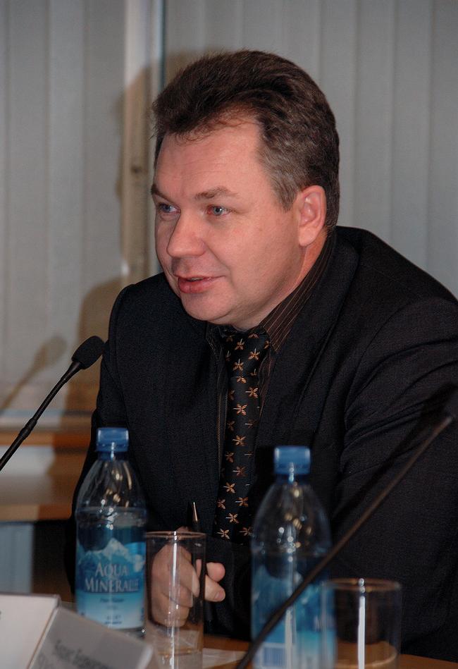 Сергей Журавлев. Заместитель председателя Экспертного совета национального проекта «Российский дом будущего»