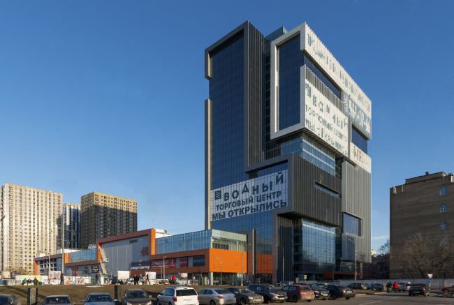 """Shopping and business center """"Vodny"""" © Atrium Architects"""