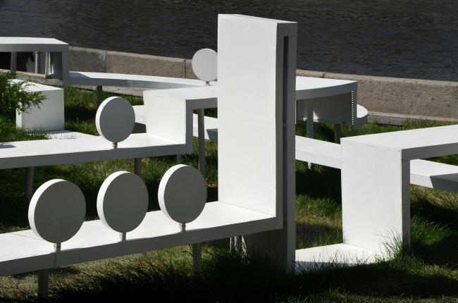 Общественная зона компании «Мегафон» на «Красном Октябре» © Архитектурное бюро «Новое». Фотография: Татьяна Ковригина