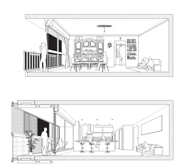 Жилой район Женикар – реконструкция © LAN Architecture