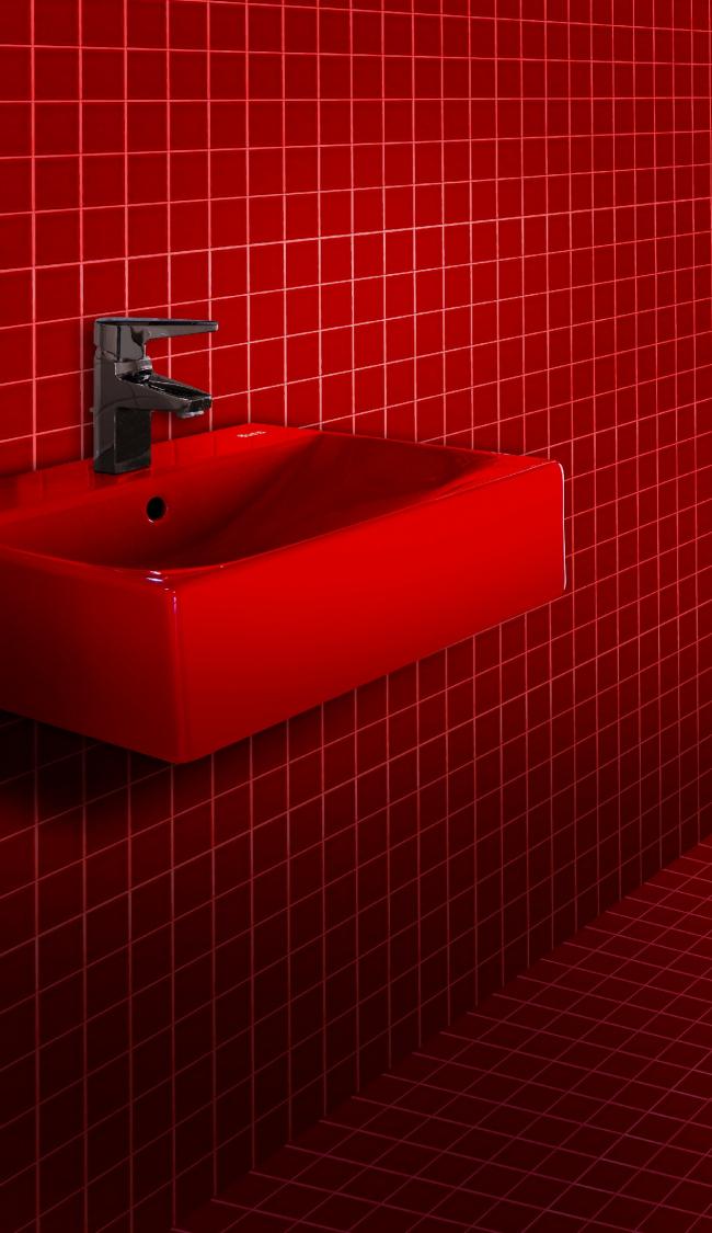 Раковина Diverta. Туалетные комнаты Ferrié Pavilion © Roca