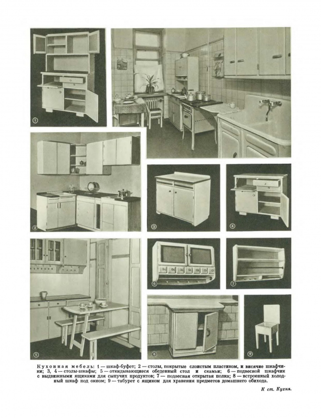 Страница «Краткой энциклопедии домашнего хозяйства». 1959
