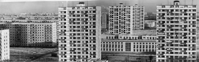 Чертаново. Новые жилые дома. Фото из архива Института модернизма