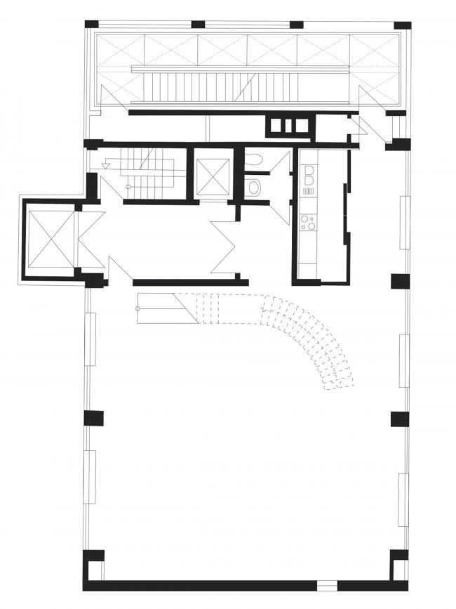 Башня Java. План жилого этажа © nps tchoban voss