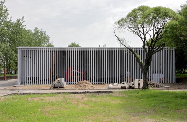 Павильон администрации парка «Садовники» © АБ Практика