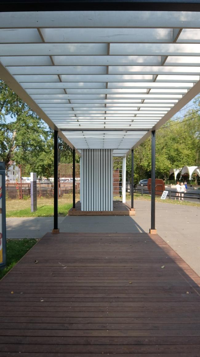 Комплексная реконструкция Измайловского ПКиО. Входная арка © АБ «Народный архитектор»