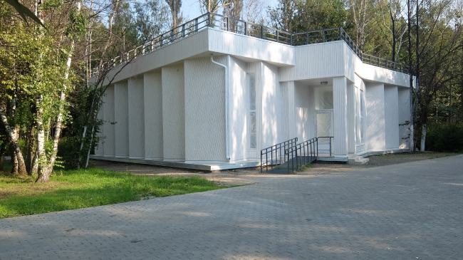 Комплексная реконструкция Измайловского ПКиО. Выставочный павильон © АБ «Народный архитектор»