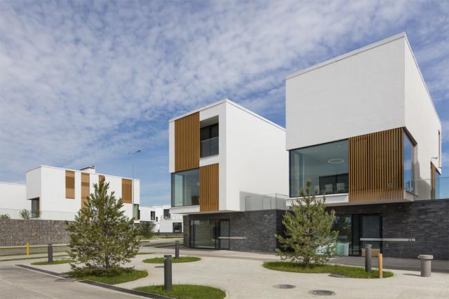 """""""Skolkovo. Technopark"""" Innovation Center. Residential area №10 © UNK project"""