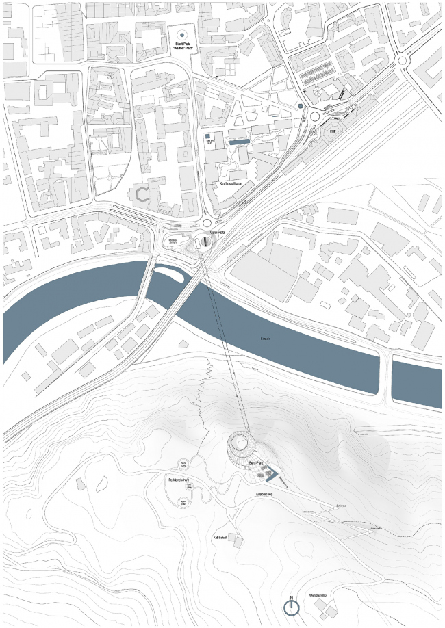 Канатная дорога в Больцано © Snøhetta
