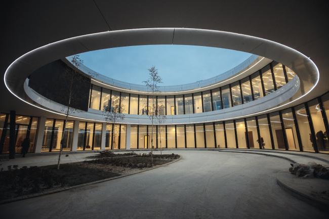 Корпоративный университет Сбербанка в Московской области © Designed by Erick van Egeraat