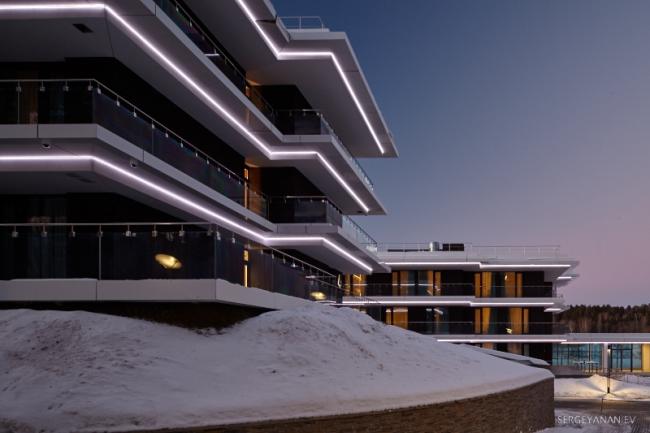 Корпоративный университет Сбербанка в Московской области. Фотография © Сергей Ананьев