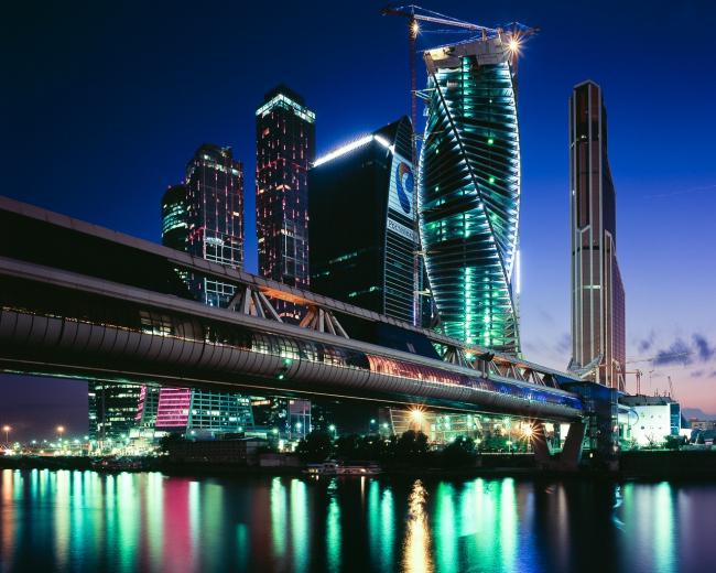 Москва-сити. Меркурий-Сити Тауэр. Фотография © Илья Иванов