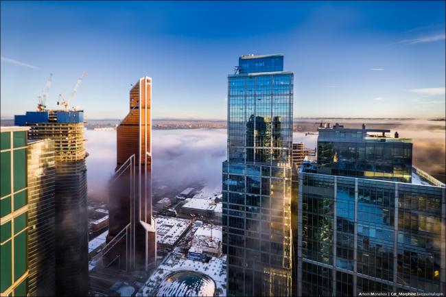 Москва-сити. Меркурий-Сити Тауэр © Designed by Erick van Egeraat