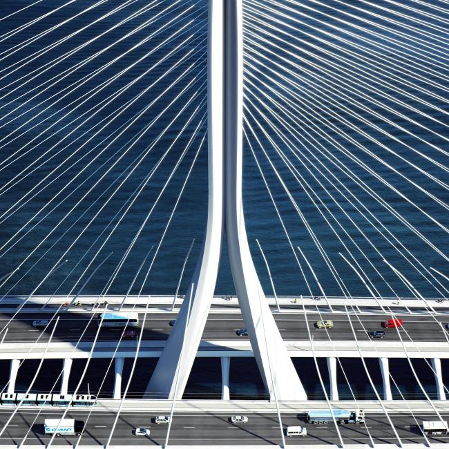 Мост Даньцзян. Архитекторы: Zaha Hadid Architects. Изображение: MIR