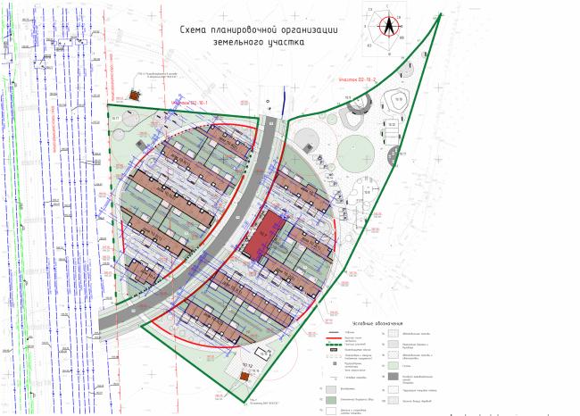 Инновационный центр «Сколково. Технопарк». Жилой квартал №10. Генеральный план © UNK project