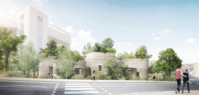 Онкологический центр Мэгги при больнице Сент-Джеймс © Heatherwick Studio