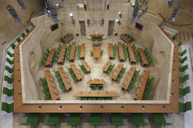 Валлетта – реконструкция исторического центра. Парламент © Mario Carrieri