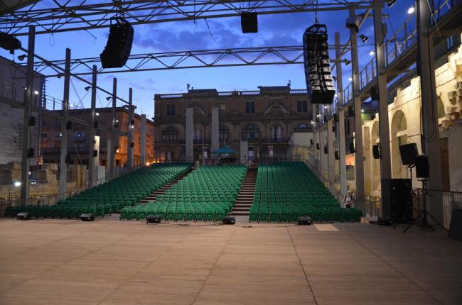 Валлетта – реконструкция исторического центра. Оперный театр © Michel Denancé