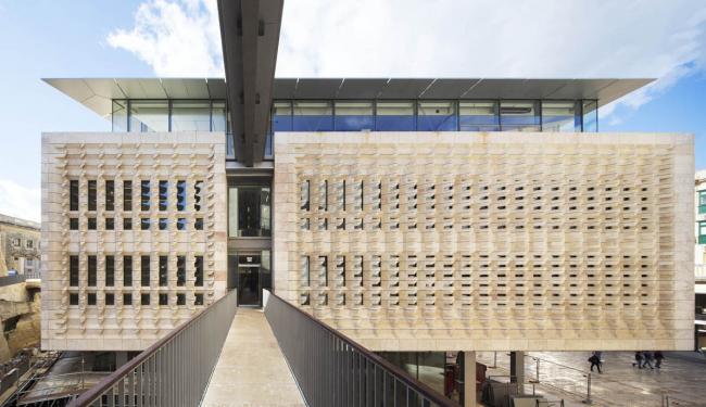Валлетта – реконструкция исторического центра © Michel Denancé