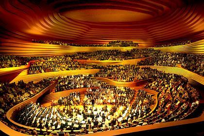 Концертный зал Elbphilarmonie © Herzog & de Meuron 2005