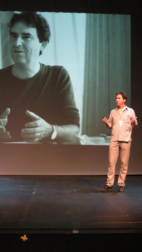 Патрик Терстон рассказывает, как он всегда хотел работать руками © Tarja Nurmi
