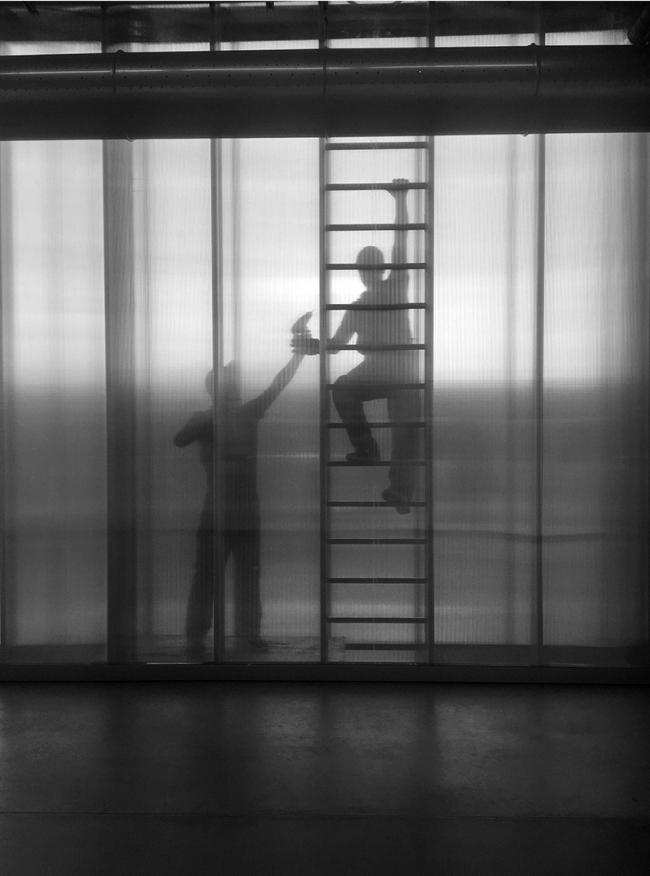 Архитектурная фотография. Съёмки в музее современного искусства «Гараж» © Мария Екушевская
