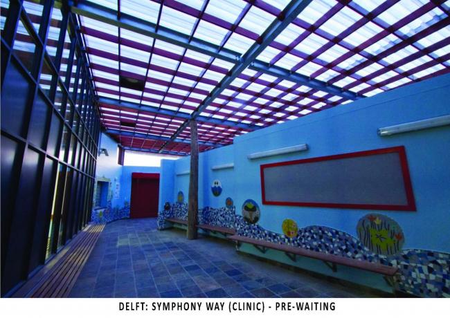 Клиника Симфони-вэй в Кейптауне. Фото: Carin Smuts Architects
