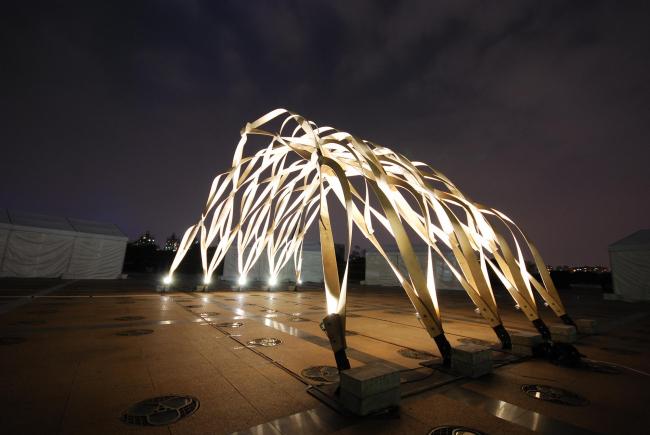 Эро Лунден. «Радикальный деревянный павильон» в Центральном парке Шанхая. 2012. Фото: Markus Wikar