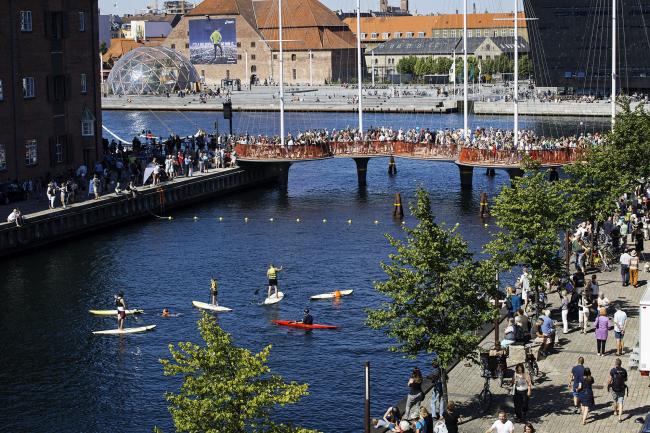 Церемония открытия моста Сиркельброэн © Søren Svendsen для фонда Nordea