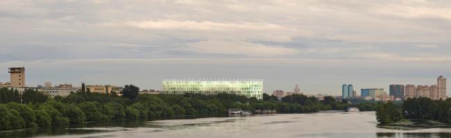 Концепция гостиничного комплекса Radisson Blue Moscow © Конструкционная безопасность
