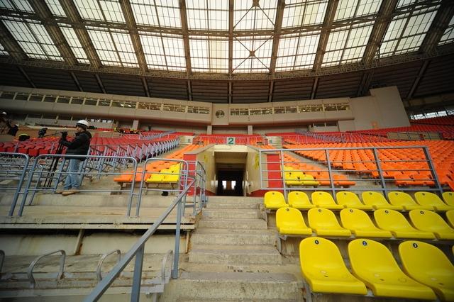 Реконструкция стадиона «Лужники». Фото: stroi.mos.ru